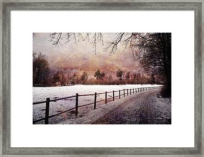 Framed Print featuring the photograph Sounds In The Paddock by Randi Grace Nilsberg