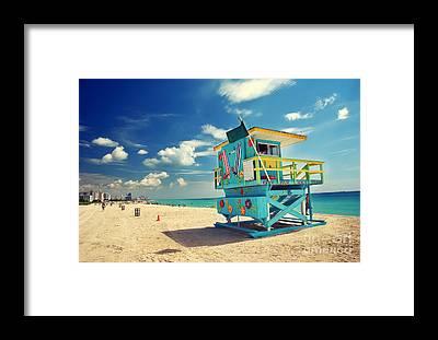 South Florida Framed Prints