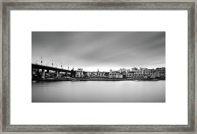 Venice Court, Vancouver Bc, Canada Framed Print