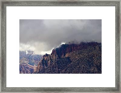 Southern Nevada Framed Print