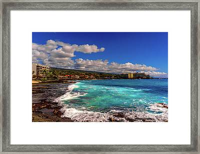 Southern View Of The Shore Framed Print