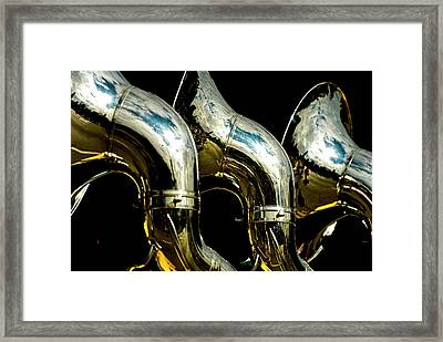Souzaphones On Parade Framed Print by By Ken Ilio