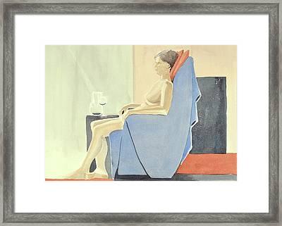Sovande Sittande Sitting Asleep 2013 06 15-16_0091 4 Mb Up To 61x91 Cm  Framed Print