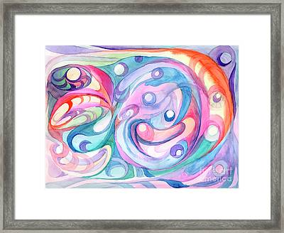 Space Abstract Framed Print