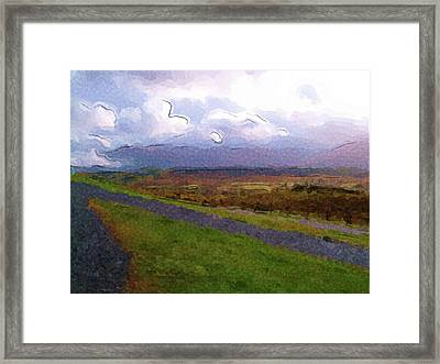 Spean Bridge Painting Framed Print