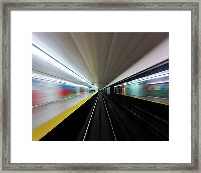 Framed Print featuring the photograph Speed 2 by Brian Carson