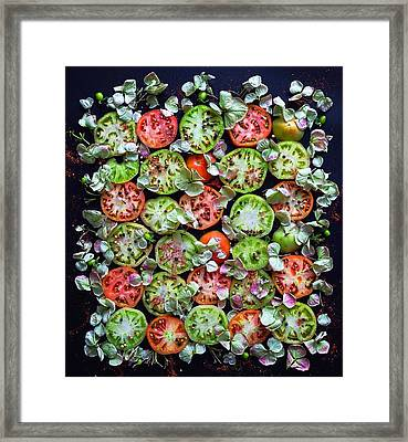 Spiced Tomatoes Framed Print