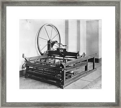 Spinning Jenny Framed Print by Hulton Archive