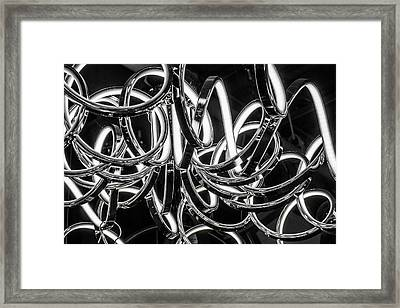 Framed Print featuring the photograph Spirals Of Light by Geraldine Gracia