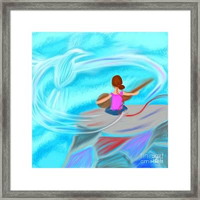 Spirit Song Framed Print