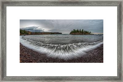 Split Rock Lighthouse State Park Framed Print