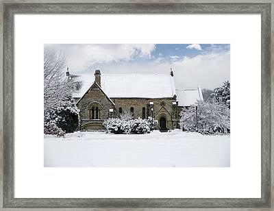 Spring Grove Chapel Framed Print