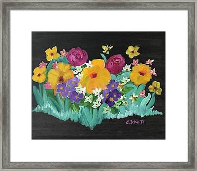 Spring Wishes Framed Print