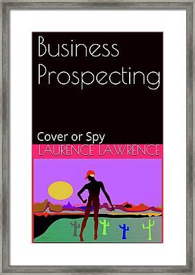 Spy 01 Framed Print