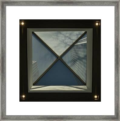 Square Framed Print