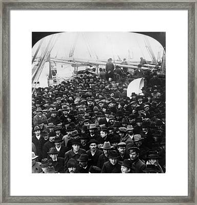 Ss Amerika Framed Print by Hulton Archive
