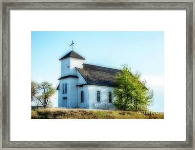 St. Agnes. Church Framed Print