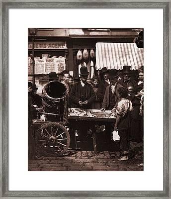 St Giles Market Framed Print by John Thomson
