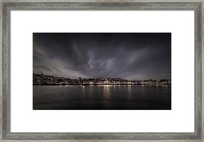 St Ives Cornwall - Dramatic Sky Framed Print