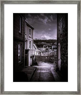 St Ives Street Framed Print