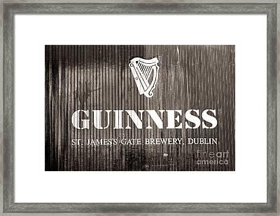 St. James Gate Brewery Dublin Framed Print
