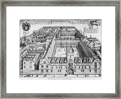 St Johns College Framed Print by Hulton Archive