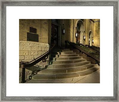 St Pete's Catholic Church Framed Print