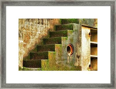 Stairway Abstract Framed Print