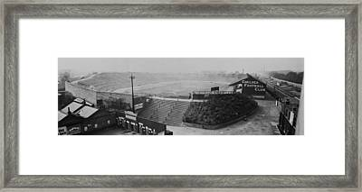 Stamford Bridge View Framed Print by Alfred Hind Robinson