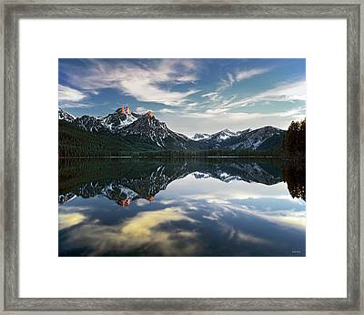 Stanley Lake Framed Print