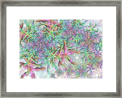 Star Remix Three Framed Print