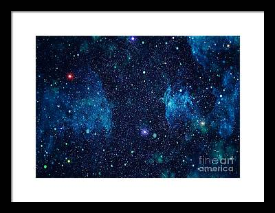 Majestic Digital Art Framed Prints