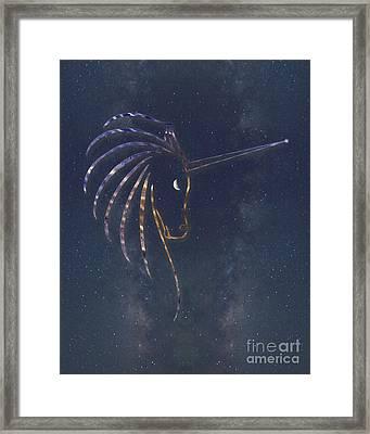 Star Unicorn Framed Print