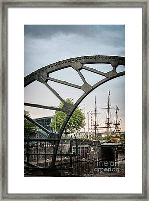 Steel And The Golden Age Framed Print