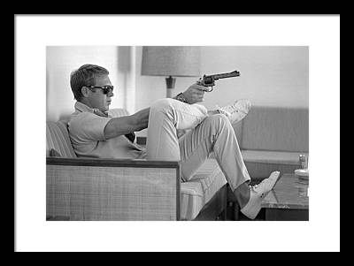 Steve Mcqueen Photographs Framed Prints