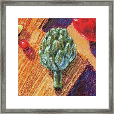 Still Life With Artichoke  Framed Print