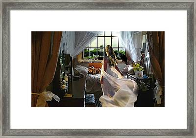 Still Twirling In My Room Framed Print