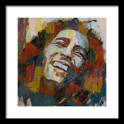 Bob Marley Framed Prints