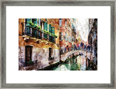 Stories In The Air Framed Print