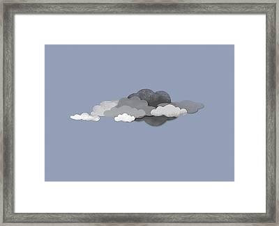 Storm Clouds Framed Print by Jutta Kuss