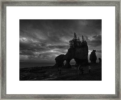 Storm Over Fundy Framed Print