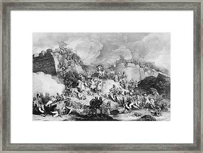 Storming Seringapatam Framed Print by Hulton Archive