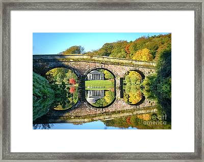 Stourhead Autumn Framed Print