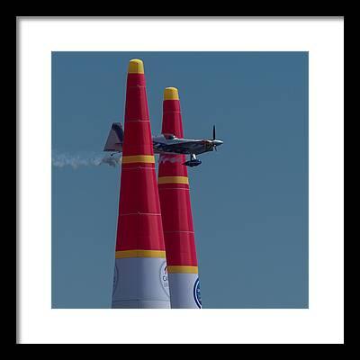 Red Bull Air Race Framed Prints