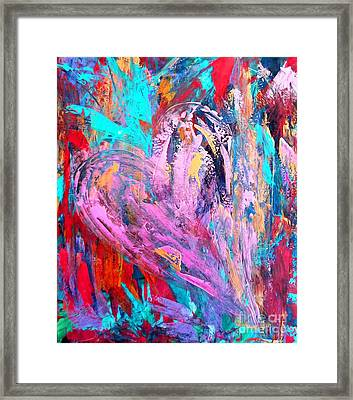Strength Of My Heart Framed Print