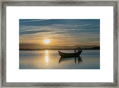 Framed Print featuring the photograph Strikes by Bruno Rosa