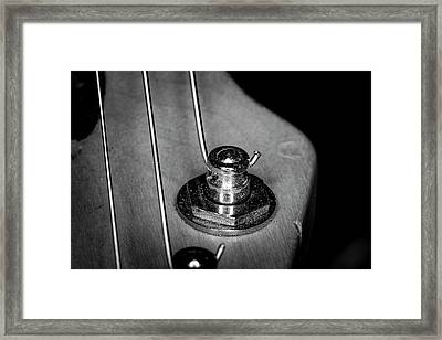 Framed Print featuring the photograph Strings Series 10 by David Morefield