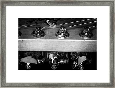 Framed Print featuring the photograph Strings Series 11 by David Morefield
