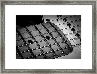 Framed Print featuring the photograph Strings Series 12 by David Morefield