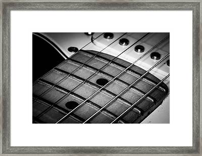Framed Print featuring the photograph Strings Series 13 by David Morefield